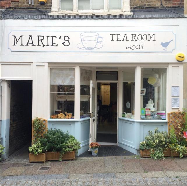 Marie S Tea Room Gravesend